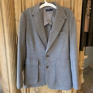 NWOT- Ralph Lauren patch pocket Wool blend Blazer